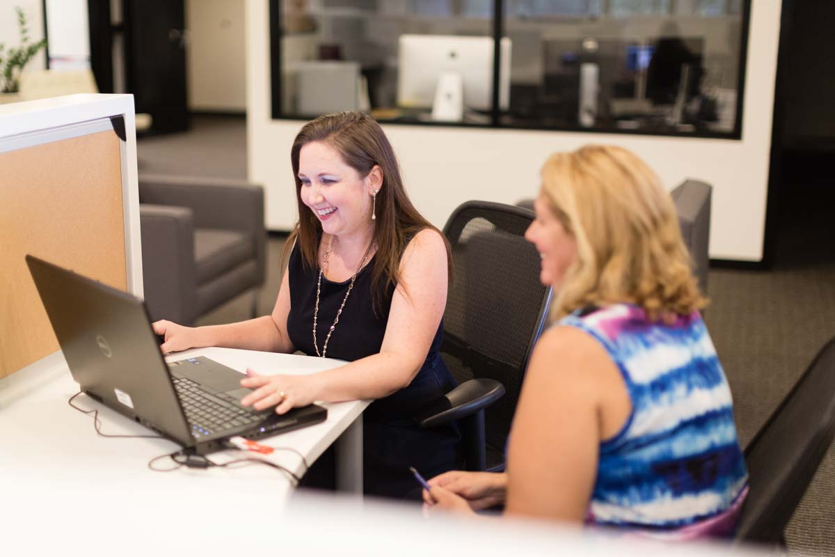 Linda Hanus of Harris Corporation helped Sheila Westerveld of SNiP-it of Central Florida with a full marketing plan and strategy
